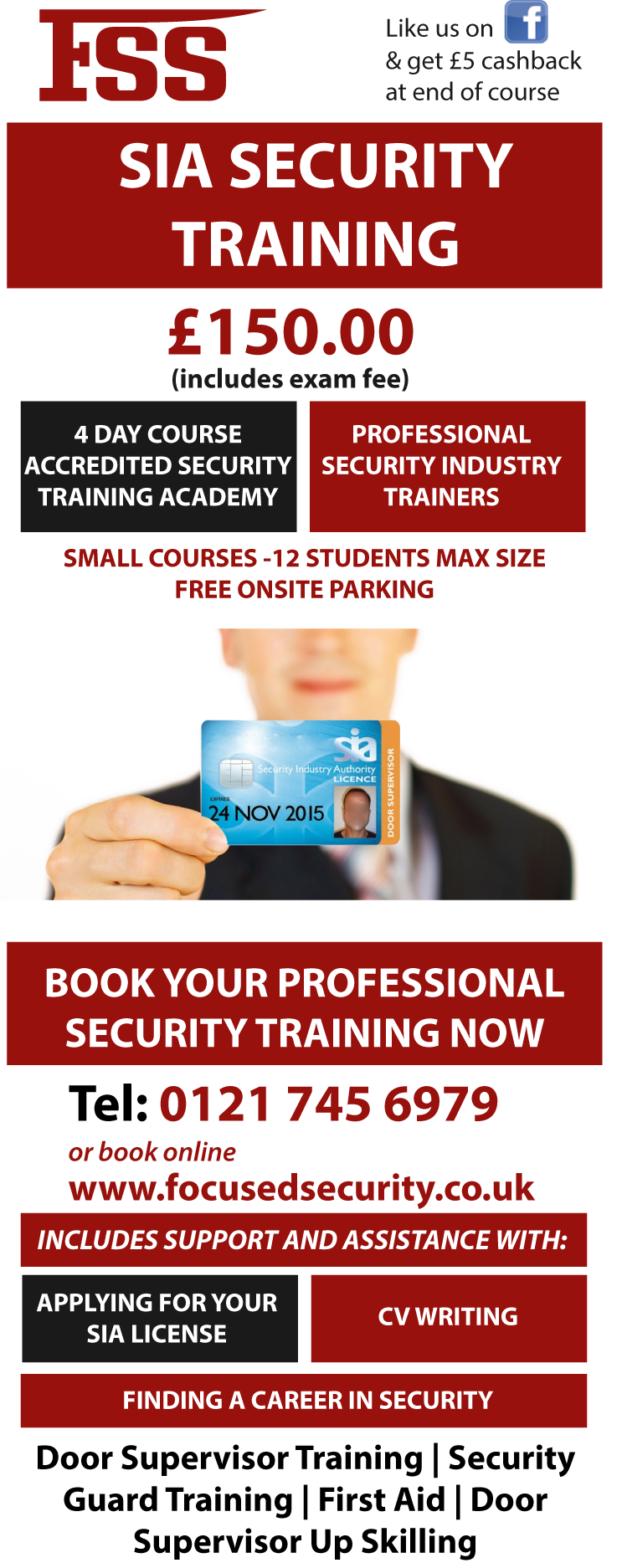 door supervisor training door supervisor training or security guard training